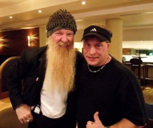 Billy Gibbons and Dustin in London, UK 2012