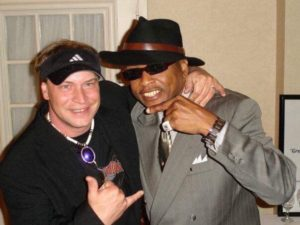 Dustin and Jimmy Jam Elps 2008 Al Green Tour