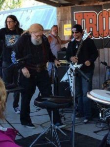 David Allan Coe and Dustin playing Bike Week Daytona Beach, FL