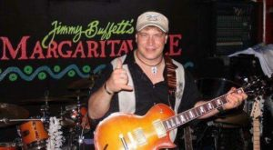 On stage at Margaritaville Key West, FL.