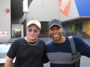 Dustin and Kevin Eubanks at the Tonight Show Los Angeles, Ca.